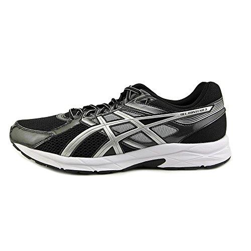 Running Platinum Black ASICS White Mens Gel 3 Contend Shoe q0IBq
