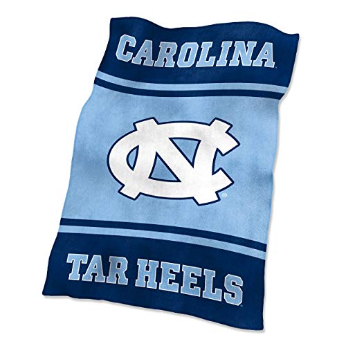NCAA North Carolina Tar Heels Ultrasoft Blanket from Logo Brands
