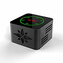 KR-8100 protable bluetooth wireless speaker, support Light-sensitive Touch Button,3D Surround,NFC Quick Match,LED Display,USB,TF,LINE IN,FM function,black