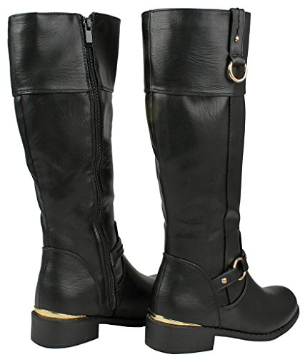 Jjf Shoes Forever Link Mango-21 Lady Boot Black_fk