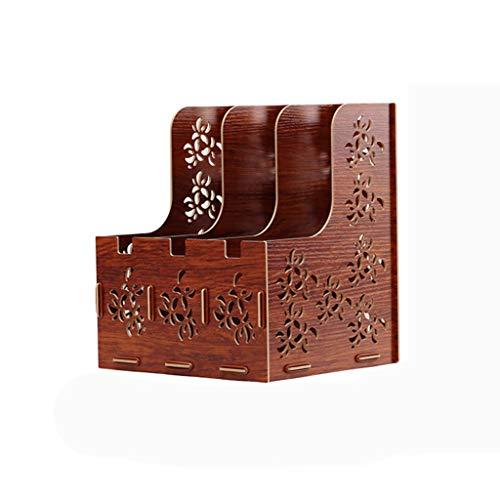 Magazine Holder, Heavy-Duty Desktop Storage Organizer File Organizer-Wood Fiberboard