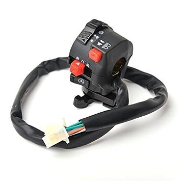 amazon com chinese atv mini quad left side control switch 50cc 70cc chinese atv mini quad left side control switch 50cc 70cc 90cc 110cc 125cc 150cc