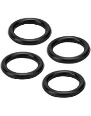 Excellent Car Accessory, Black Lysee Washers Service Life Rubber Rubber