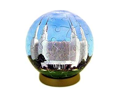 Washington DC Temple Puzzle Ornament