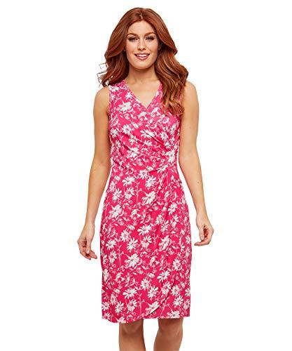 Print Jersey Wrap - Joe Browns Womens Floral Print Wrap Dress Pink 12