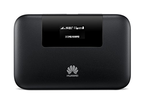 Huawei E5770s-320 4G LTE 150 Mbps Mobile WiFi Pro (20 hours working, Power Bank Feature, Ethernet Port) (Black)