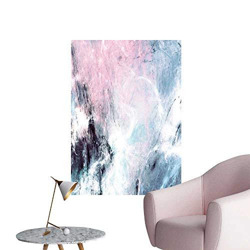 SeptSonne Wall Decoration Wall Stickers Color Smoke dynami backgroun Light Effect Bright Shiny Paint Print Artwork,28