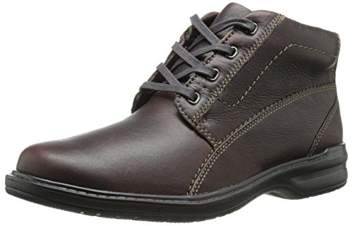 Clarks Men's Sherwin High Chukka Boot,Brown Tumbled Leather,8.5 M US