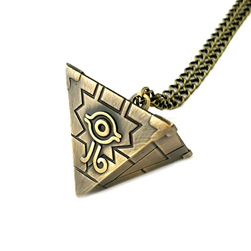 Yu-Gi-Oh Pendant Necklace Game Gaming Comics Movies Cartoon Superhero Logo Theme Premium Quality Detailed Cosplay Jewelry Gift Series