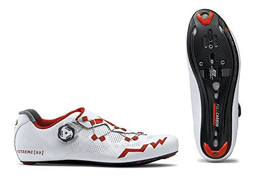 Northwave, Extreme RR White/Red 44.5 by Northwave