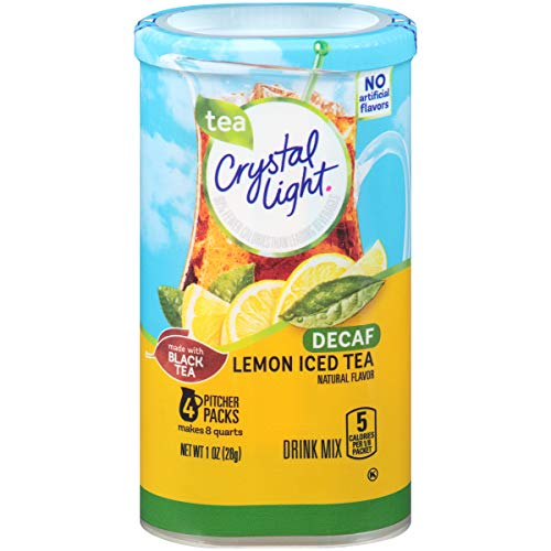 Crystal Light Crystal Light Lemon Decaf Iced Tea Drink Mix, Pitcher Pa
