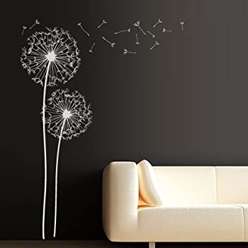 Merveilleux Wall Decal Vinyl Sticker Decals Art Decor Design Dandelion Flower Nature  Plants Botanic Grass Forest Bedroom