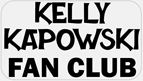 Kelly Kapowski Fan Club - 250 Stickers Pack 2.25 x 1.25 inches - 80s Humor ()