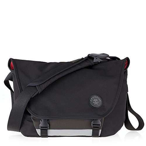 Crumpler Men's The Moderate Embarrassment Messenger Bag 10 L Black