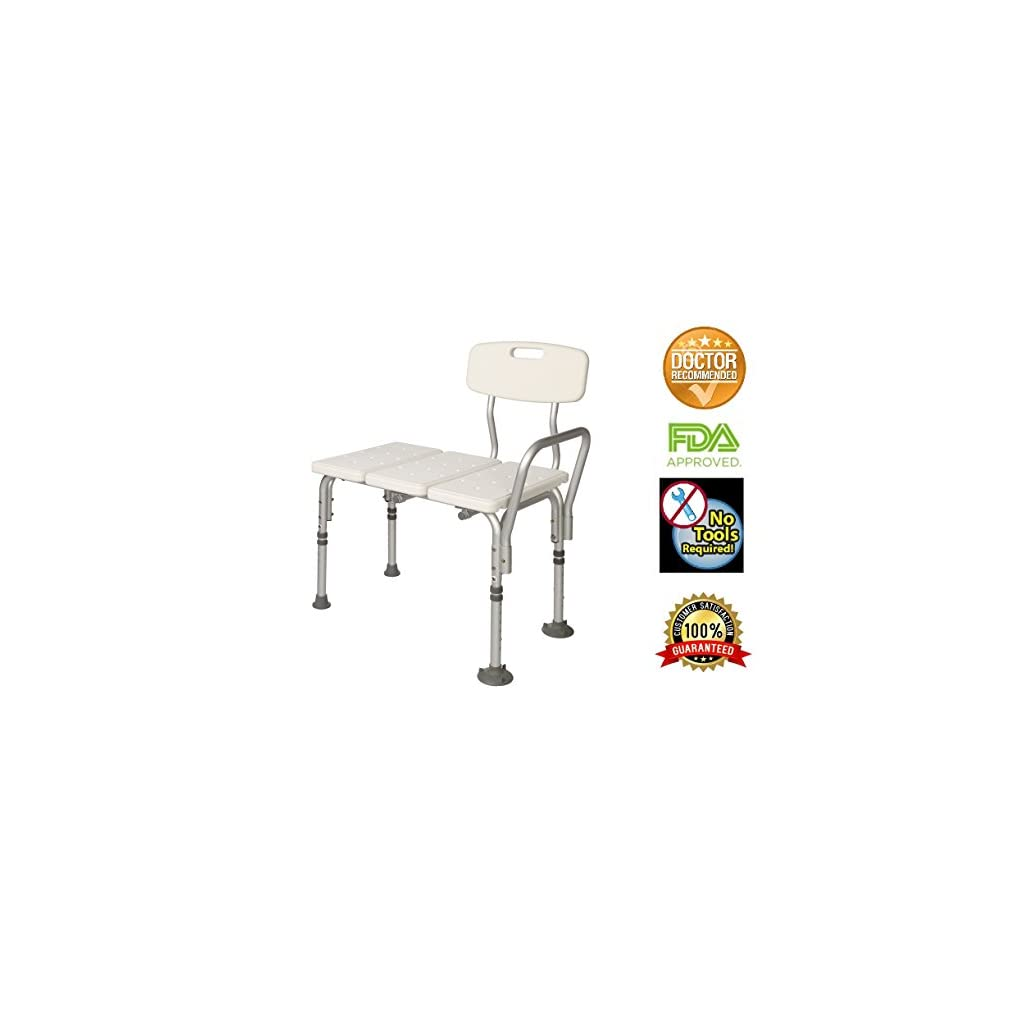 Dr Kay\'s Adjustable Height Bath and Shower Chair Top Rated Shower ...