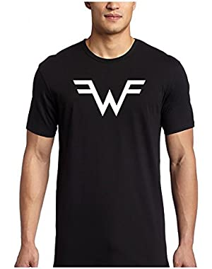 Weezer Rock Band Logo T Shirt Short Sleeve