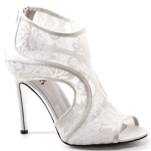 Luichiny Paris Nights Sandals (8.5, Off White) -