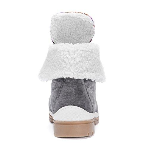 Mukluks Women's Muk LUKS Megan Fashion Boot Charcoal H1x92