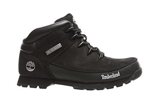 Timberland Herren Euro Sprint Hiker Chukka Boots Schwarz (Black Nubuck)