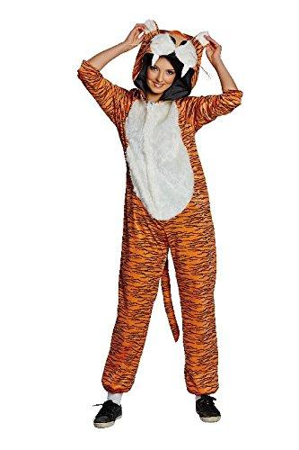 Mottoland Damen Kostum Tiger Raubkatze Tigerkostum Zu Karneval