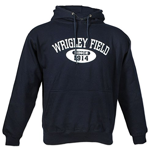 Wrigley Field 1914 Navy Hooded - Field Mens Sweatshirt