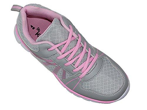 Sports Pour Filet En 6 À Maille Chaussures Course Léger Décontracté Lacets Baskets Gym Homme De Taille Confort HqHrv