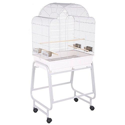 Montana Cages | Sittichkäfig, Käfig, Voliere, Vogelkäfig Memphis II - Platinum von Montana Cages