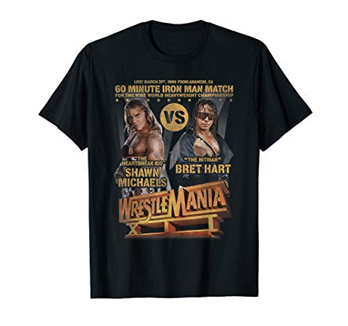 WrestleMania Shawn Michels vs Bret Hart T- Shirts