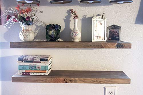 Floating Shelf (2x8x48 Inches)