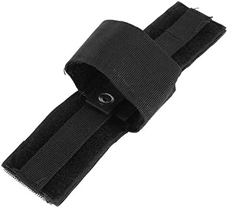 L-Yune, Tactical Universal Hunting Patch Modular Pols Holster Combat Simple Hook Loop Pistol Holster Nuevo Negro (Color : B)