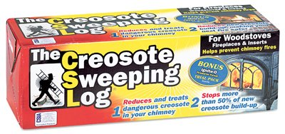 Creosote Sweeping Log - As Seen On TV-CREOSOTE SWEEPING LOG