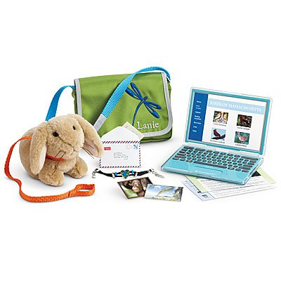 37ca0ca3d Image Unavailable. Image not available for. Color: American Girl Lanie's  Accessories ...