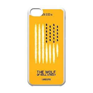 Special Design Cases iPhone 5C Cell Phone Case White The Wolf of Wall Street Scohj Durable Rubber Cover