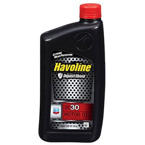 Havoline 223391720 SAE 30 Motor Oil - 1 qt.