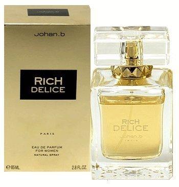 Johan B. Rich Delice for Women Eau De Parfum Spray, 2.8 Ounce