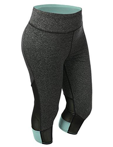 SHOPQUEEN Sports Active Stretch Leggings