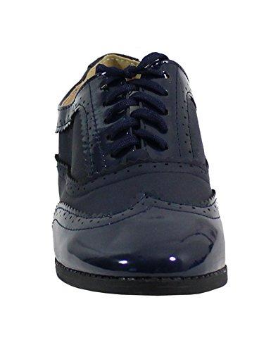 Bleu nbsp;– nbsp;– Plate Shoes nbsp;Mujer Derby nbsp;Zapato by estilo qxCUAwvW7