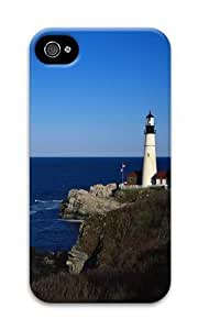 Iphone 4S Case Lighthouse PC Hard Case For Iphone 4S