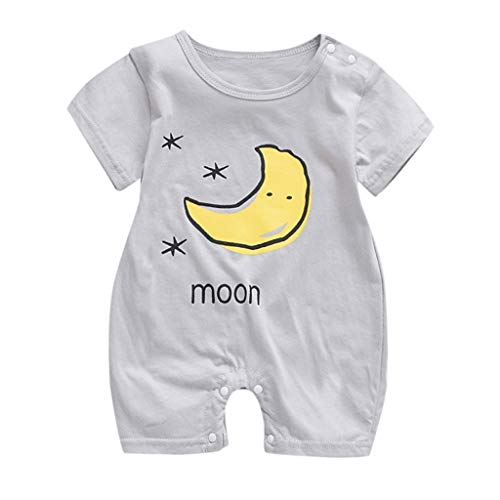 Sherostore ♡ Baby Cute Summer Jumpsuits for Girls Kids Printed Romper Jumpsuit Toddler Pants Size 0M-18M -