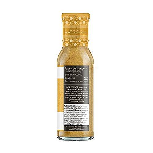 Primal Kitchen Honey Mustard Avocado Oil 8 Fluid Ounces 3 Pack