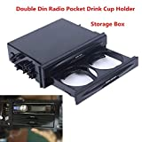 FidgetFidget -Cup Holder Storage Box Hot Car Truck Double Din Radio Pocket Drink