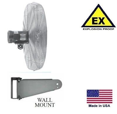 Explosion Mount Proof Wall (Streamline Industrial CIRCULATOR FAN - Explosion Proof - Wall Mount - 24