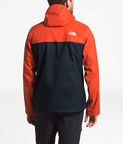 75dc17b53 The North Face Men's Millerton Jacket Zion Orange/Urban Navy Medium