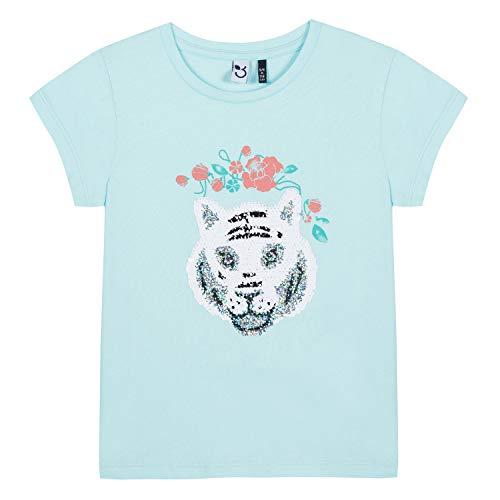 3 Azul laguna Chica Azul Manzanas Camiseta 500 SFqdfS