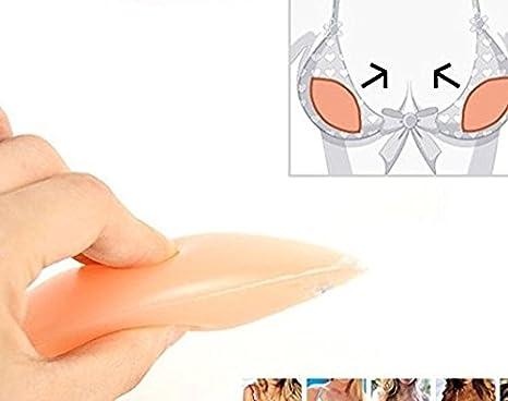 Amazon.com: CTKcom Waterproof Silicone Bra Bikini Gel Inserts Swimsuit Pads Enhancer Bra Inserts for Women (Nude): Office Products