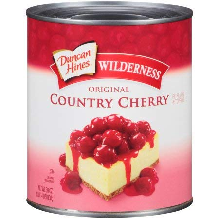 Duncan Hines, Wilderness, Original Pie Filling & Topping, Country Cherry (Pack of 20) by Generic (Image #1)