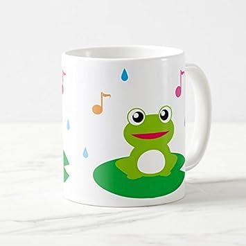 Amazon可愛いカエルのイラストのマグカップフォトマグ世界のカエル