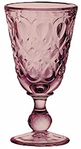 La Rochere Set Of 6, 9-ounce Lyonnais Amethyst Wine Glasses