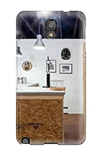 Hot LOjZeAv28372jAfxE Case Cover Protector For Galaxy Note 3- Industrial Style Home Bar Made From Plywood