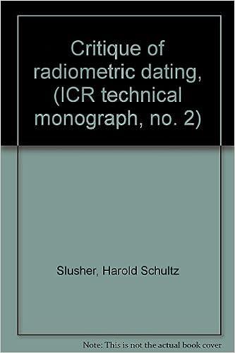 critique of radiometric dating